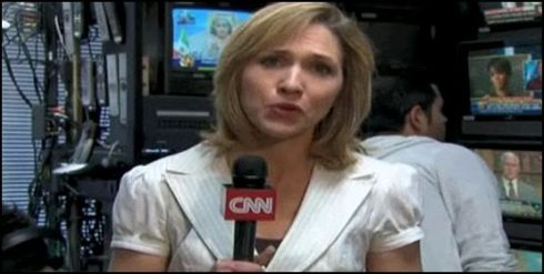 "Still aus ""CNN's Kara Finnstrom talks about some of the ways information is coming out of Iran"""